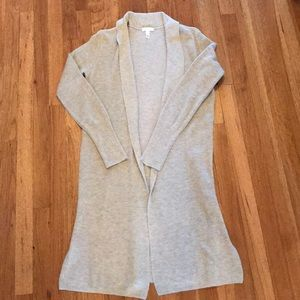 Leith Longline Cardigan, Size Small